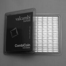 ESG Valcambi Silberbarren 999 Silber als Anlage 10 mal 1gaus Combibar