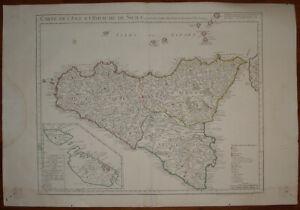 Cartina Sicilia Antica.Carte Geografiche Sicilia Antiche Acquisti Online Su Ebay