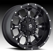 "18"" +1 D517 Fuel Krank Black Wheels Rims 8x170 8 Lug Ford F-250 F-350 SD"