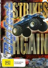 BIGFOOT STRIKES AGAIN - MONSTER TRUCK MADNESS - DVD - FREE LOCAL POST