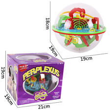 100 Barriers 3D Labyrinth Magic Intellect Ball Balance Maze Perplexus Puzzle Big