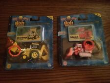 Bob the Builder Take Along Lot of 2 - Scoop & Muck New in packages!