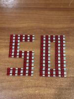 Blade Fuse Mini Size 10 AMP APM/ATM Red Car Boat x 50 Pieces