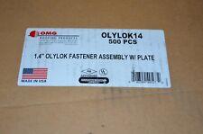 "1.4"" OMG OLYLOK14 OlyLok Locking Impact Nail 500ct"