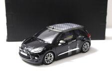 1:18 Norev Citroen DS3 Cabrio 2013 black SP NEW bei PREMIUM-MODELCARS