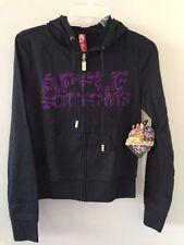 NWT Apple Bottoms Women Black Sweatshirt with Hood ~~ Size M