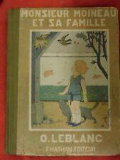 Monsieur Moineau et sa famille, O.Leblanc, 1928 - Cavahel Vintage