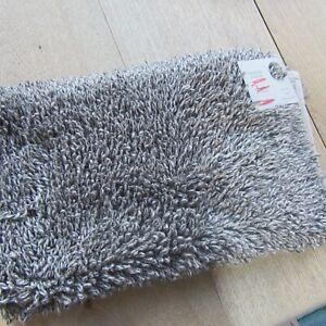 John Lewis Marl Twisted 3 Tone Bath Mat - Grey - 50cm X 80cm.