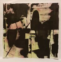 No.712 Original Abstract Minimal Painting On Canvas By K.A.Davis