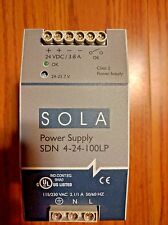 SOLA Power Supply 4AMP 24VDC 115/230VAC SDN 4-24-100LP