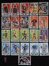 21x Star Wars Sammelkarten Karte Serie 1 - genaue Infos in der Abbildung
