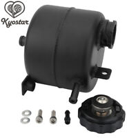 Aluminum Water Coolant Expansion Tank With Cap For Mini Cooper S R52 R53 Black
