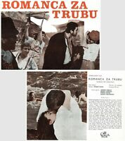 ROMANCE PRO KRIDLOVKU / ROMANCE FOR BUGLE Original RARE exYU Movie Program 1967