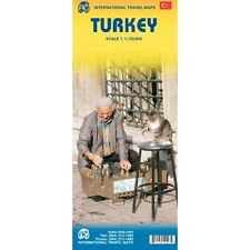 Turkey 1:1,100,000 Travel Map ***2011***  [Map] [Feb 10, 2011] ITM Canada
