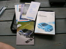 2010 10 MAZDA THREE 3 OWNER'S MANUAL SET BOOK FREE SHIPPING BUY ME NOW