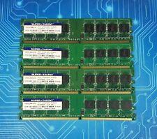 16GB (4x4GB) PC2-6400u DDR2-800MHz Unbuffered Super Talent T800UB4GHY