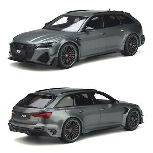 1/18 GT Spirit Audi ABT RS6-R Grey 2020 Précommande Livraison Domicile Juillet