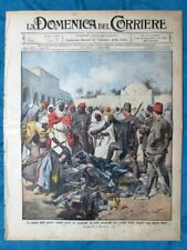 La Domenica del Corriere 30 giugno 1912 Turchia - Mauvaise - Bersaglieri