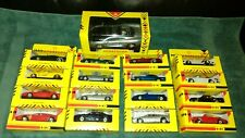 16 Shell Sportscar Collection BMW Lotus Ferrari 1:36 + Maisto 1:24 Jaguar XJ220