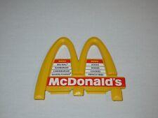 1993 McDonalds Restaurant Playset Replacement Sign