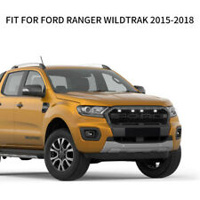 Front Grill For Ford Ranger PX 2015 - 2018 Raptor Wildtrak XL XLT Matt Mesh