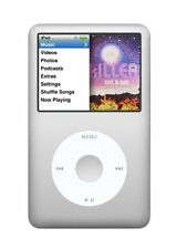 Apple iPod Classic 7th Generation Silver MB562LL/A 120GB Gen 7 i Pod ( 120 GB )