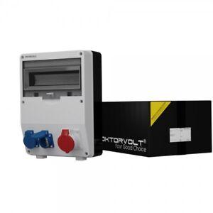 Distribution Board Power Box Td 1x16A 2x230V Wall Building Site 6763
