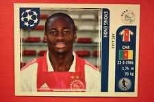 PANINI CHAMPIONS LEAGUE 2011/12 N. 255 ENOH AJAX WITH BACK BACK MINT!!