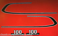 SUZUKI A100 DECAL SET TANK AND SIDE PANELS