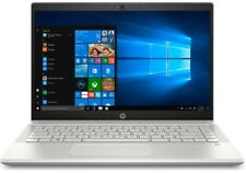 "HP Pavilion 14-CE1507SA 14"" Intel i3-8145u 128GB SSD 8GB RAM Laptop Silver-Win10"