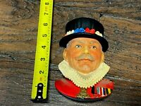 Vintage THE BEEFEATER Chalkware By Legend Products 1981 Chalk Figure