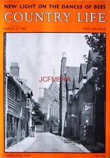 1952 'A CORNER OF RYE, SUSSEX' - Country Life Cover Photo Print