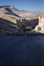 KODACHROME Red Border 35mm Slide Wyoming Shell Canyon Old Classic Cars 1950s!!!