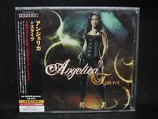 ANGELICA Thrive + 1 JAPAN CD The Murder Of My Sweet Crash The System Issa