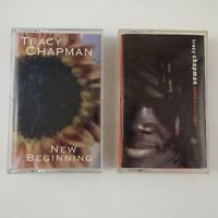 Lot of 2 Tracy Chapman Cassette Tapes New Beginning Matters of the Heart