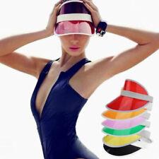 Poker Golf Sun Visor Hat Tennis Neon Pub Stag 1980s Dance Cap Hen Headband