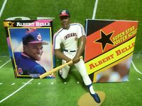 1992  ALBERT BELLE - Starting Lineup - SLU -Loose With Card & Poster - CLEVELAND