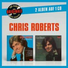 CHRIS ROBERTS - ORIGINALE 2AUF1: ZUM VERLIEBEN/HAB' SONNE IM HERZEN  CD NEU