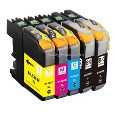 5PK Hi-Yield 2BK +3Color ink For Brother LC203 XL MFC-J460DW J5620DW 5625 W/Chip