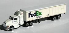 Fedex ground maqueta de coche camión con remolque camiones 1:87 nuevo remolcarse aprox. 18cm largo