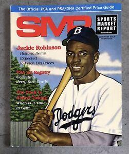PSA SMR Price Guide Magazine November 2017 NM Jackie Robinson Jerry Rice