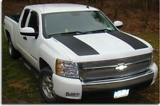 Hood Scoop Decal Stripes - 07-13 Silverado 1500
