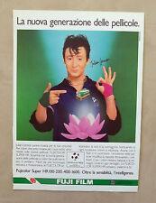 E101 - Advertising Pubblicità - 1987 - FUJI FILM PELLICOLE TEST. JULIAN LENNON