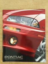 1994 Pontiac Full Line Up Brochure 99 Pages