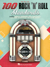 100 ROCK 'N' ROLL STANDARDS MUSIC BOOK-PIANO/VOCAL/GUITAR SONGBOOK-NEW ON SALE!!