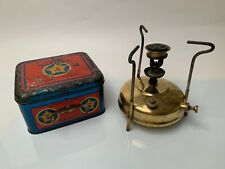 Radius 17 original parafin Kocher stove Tin box OVP - tested- working - getestet