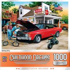 Childhood Dreams Getting Dirty 1000 Piece Jigsaw Puzzle
