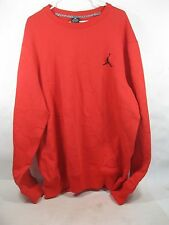 Nike Jordan 404500 680 Core Crew Men's Sweatshirt (Red/Black) *Size 2XL