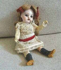 N°69/ Ravissante petite poupée ancienne, mignonette de 11 cm, SFBJ, Jumeau, autr
