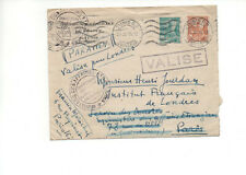 Tunisie Tunis 1945 cover air mail